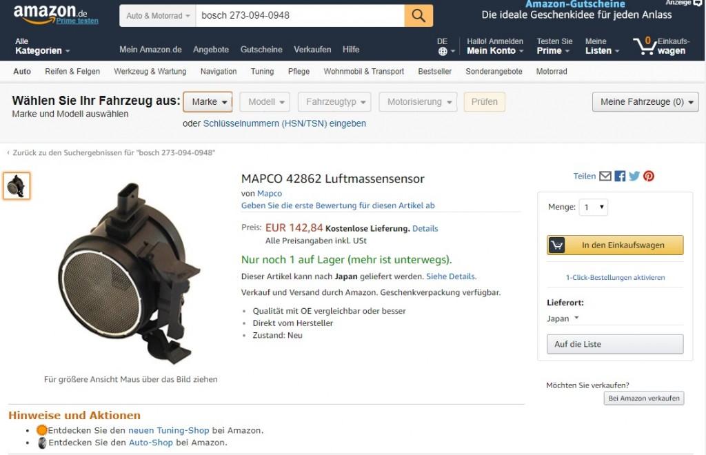 Amazon.deLuft